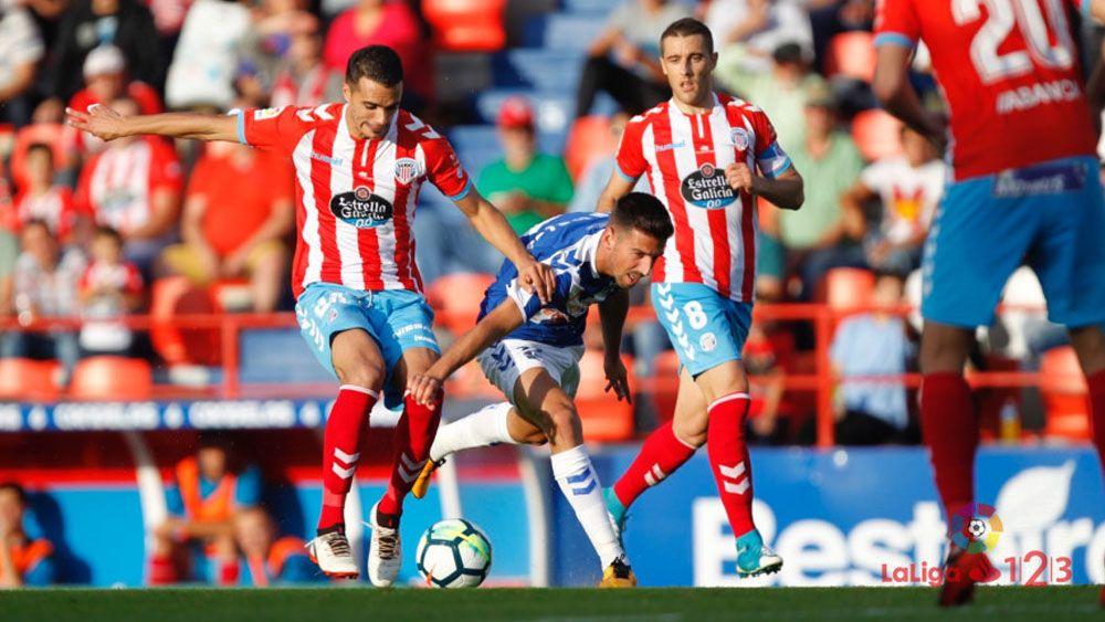Los jugadores del CD Tenerife piden positividad