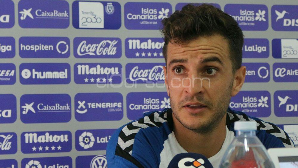 """Juan Villar: """"Fuera de casa tenemos que pelear como en Lugo y Oviedo"""""""