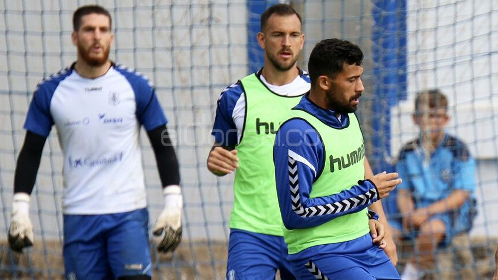Aveldaño y Alberto, dos partidos juntos en el CD Tenerife, dos victorias