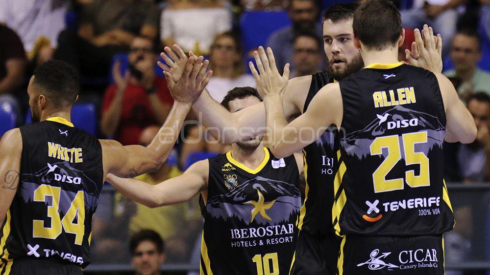 La victoria del Iberostar Tenerife ante UCAM Murcia , en imágenes