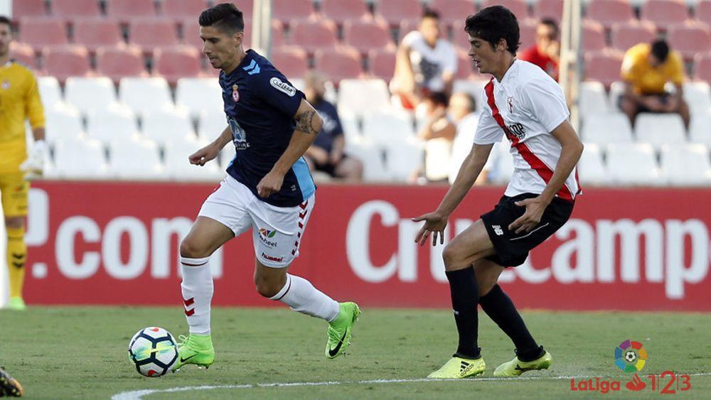El ex del CD Tenerife Yeray González es el rey del pase en la Liga 1|2|3