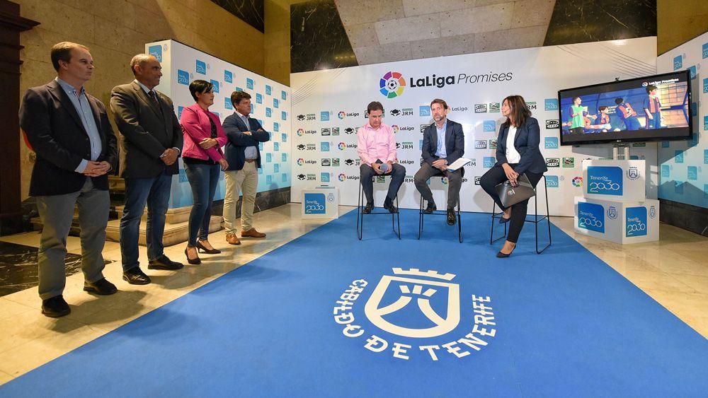 El XXII Torneo Internacional LaLiga Promises de Tenerife reunirá a los mejores equipos sub12 en Arona