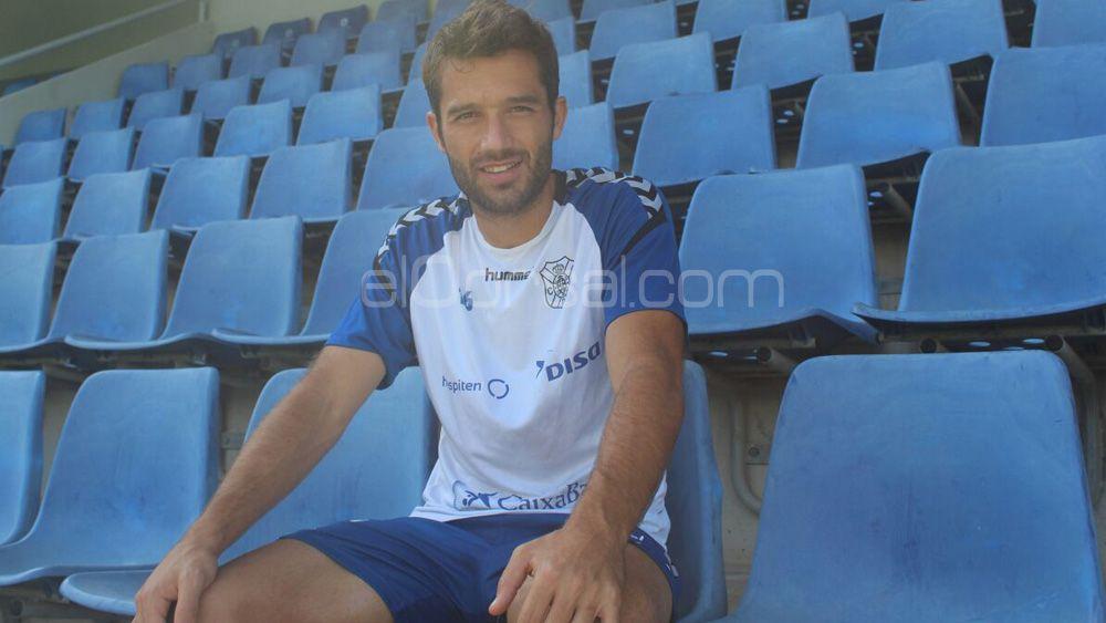 """Aitor Sanz: """"A pesar de las bajas el CD Tenerife tiene una plantilla muy amplia, hay recursos de sobra"""""""