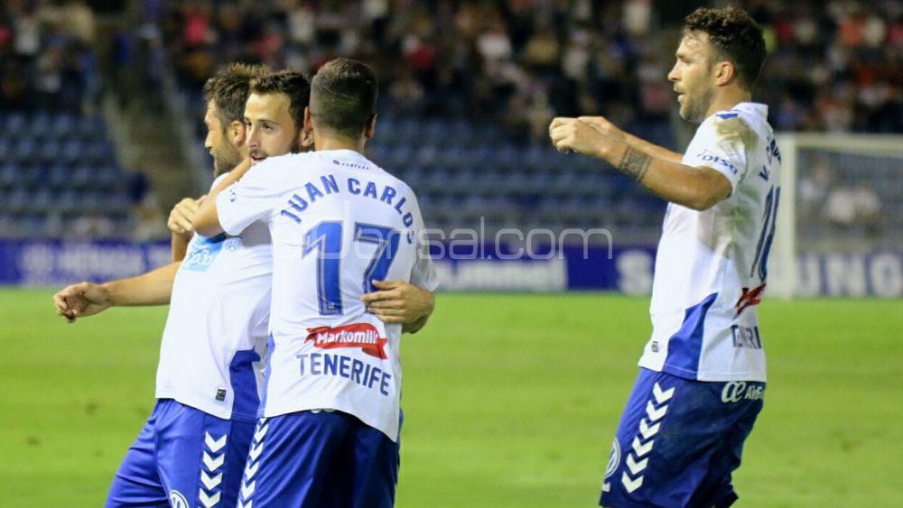 El CD Tenerife, entre los mejores equipos de la Liga 1|2|3 en faceta goleadora