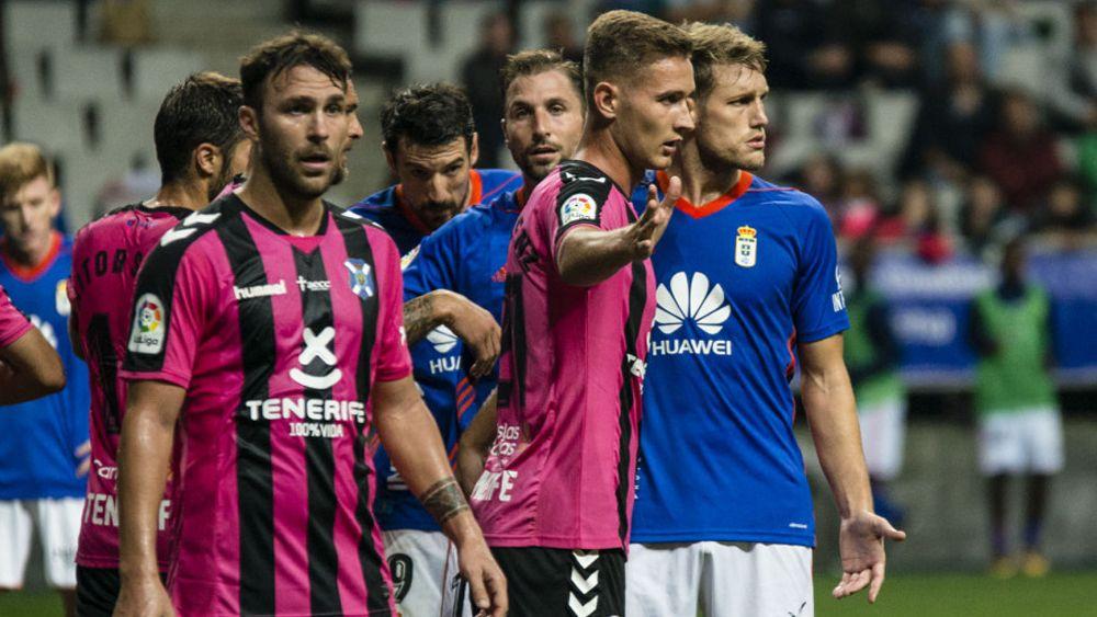 El uno por uno de los jugadores del CD Tenerife ante el Real Oviedo