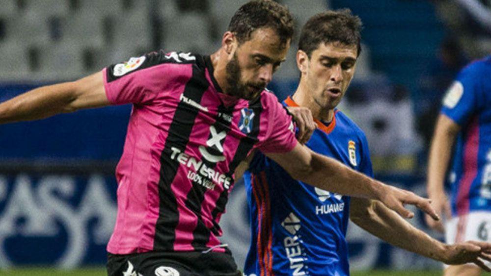 El gol de Villar y las paradas de Dani Hernández para puntuar en el Tartiere