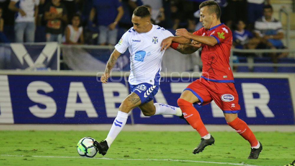 La afición del CD Tenerife pondría a Suso Santana titular ante el Lorca FC