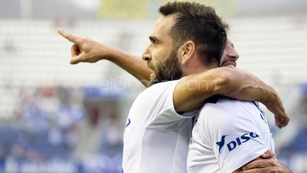 El empate entre el CD Tenerife y el CD Numancia , en imágenes