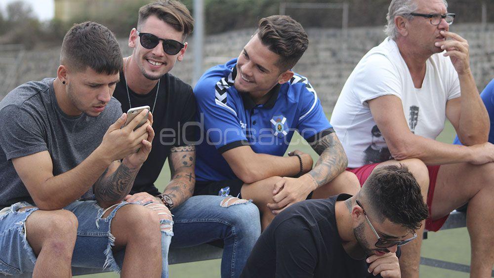 Brian Martín y Nahuel, reservados para el primer equipo del CD Tenerife