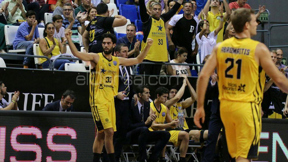El primer y trabajado triunfo de Iberostar Tenerife en la Champions League 17-18