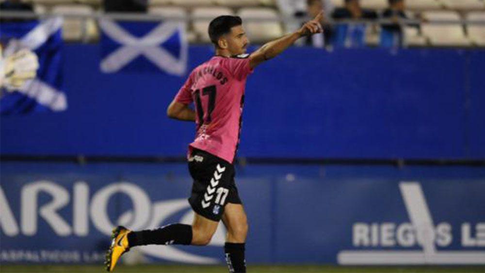 Los goles del CD Tenerife en un partido para olvidar contra el Lorca FC