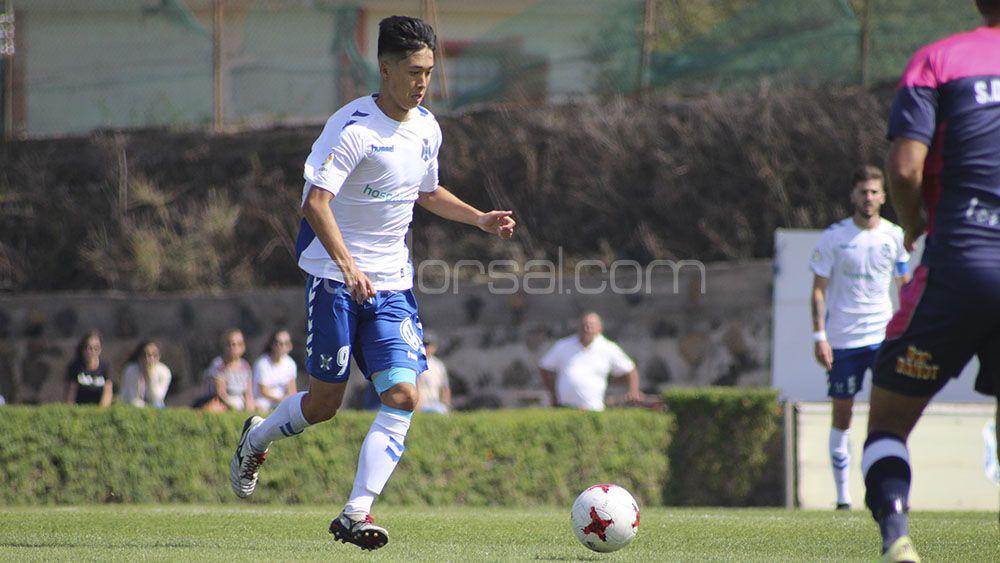 Yuya, determinante en una nueva victoria del CD Tenerife B