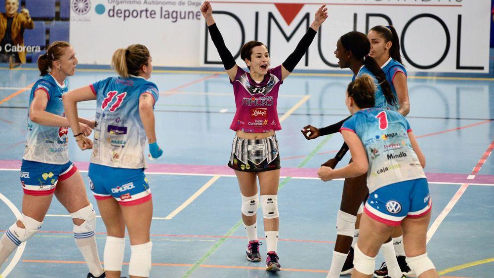 Victoria y liderato para el CV Haris tras imponerse al Feel Volley Alcobendas