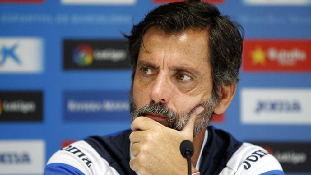 """Quique Sánchez Flores: """"El CD Tenerife juega bien y tiene un buen nivel"""""""