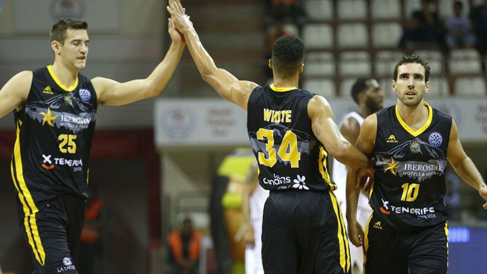 La buena segunda parte del Iberostar Tenerife para ganar en Turquía