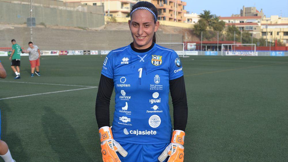 """Pili González: """"Volver a la UDG Tenerife es la mejor decisión que pude haber tomado"""""""