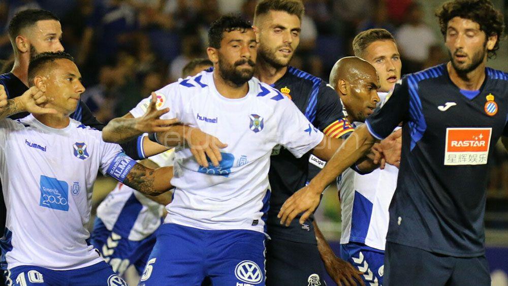 Alberto recibió varias ofertas para abandonar el CD Tenerife en el mercado invernal