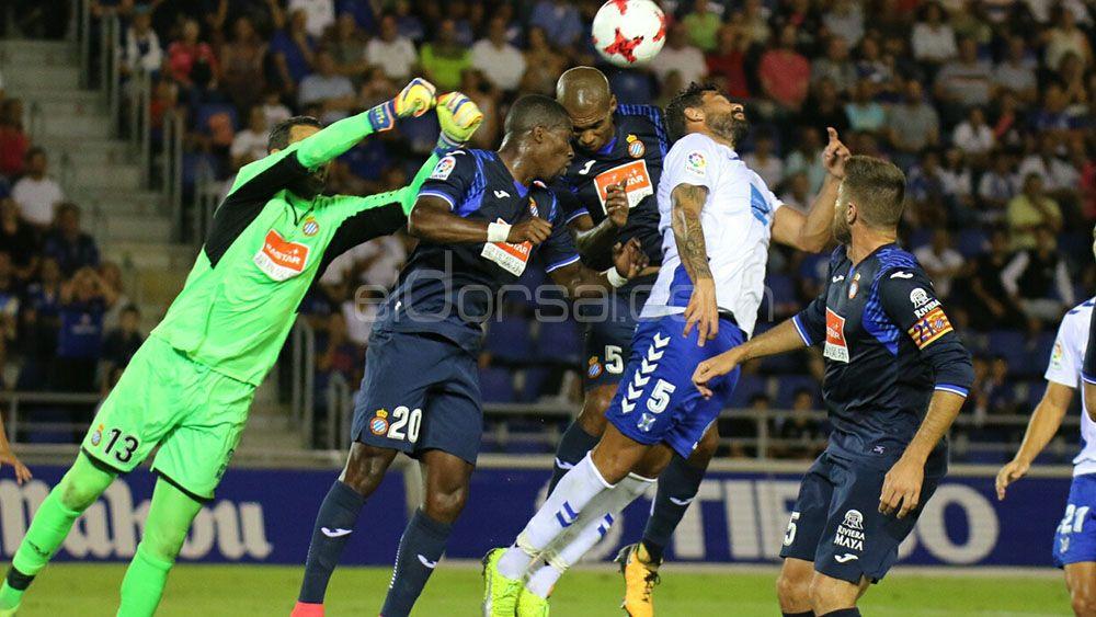 Las ocasiones del CD Tenerife ante el Espanyol