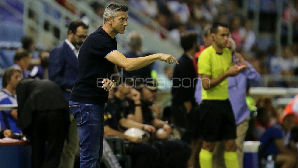"""Martí: """"El CD Tenerife ha hecho méritos para llevarse la victoria ante el Espanyol"""""""