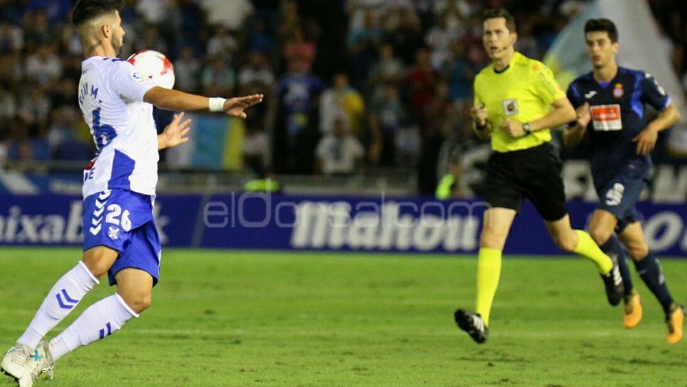 El uno por uno de los jugadores del CD Tenerife ante el Espanyol