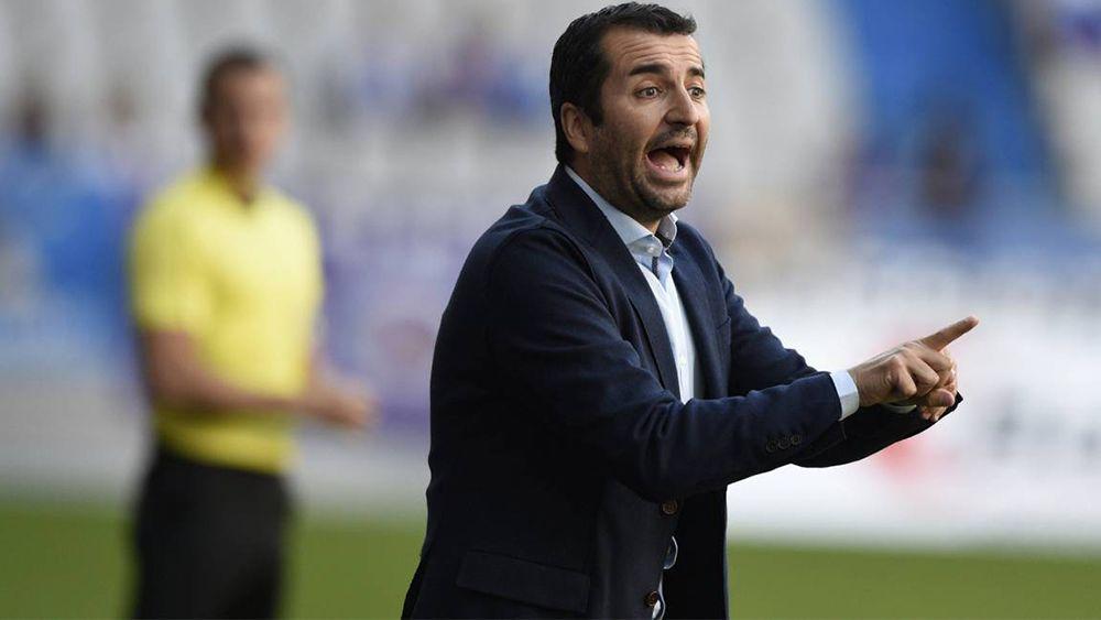 """Diego Martínez: """"Del 10′ al 45′ fuimos superiores al CD Tenerife"""""""