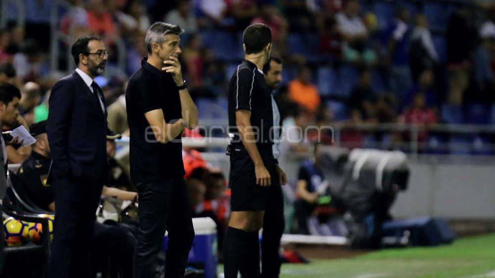 """Martí: """"Al CD Tenerife solo le faltó acierto, los jugadores estuvieron espectaculares"""""""