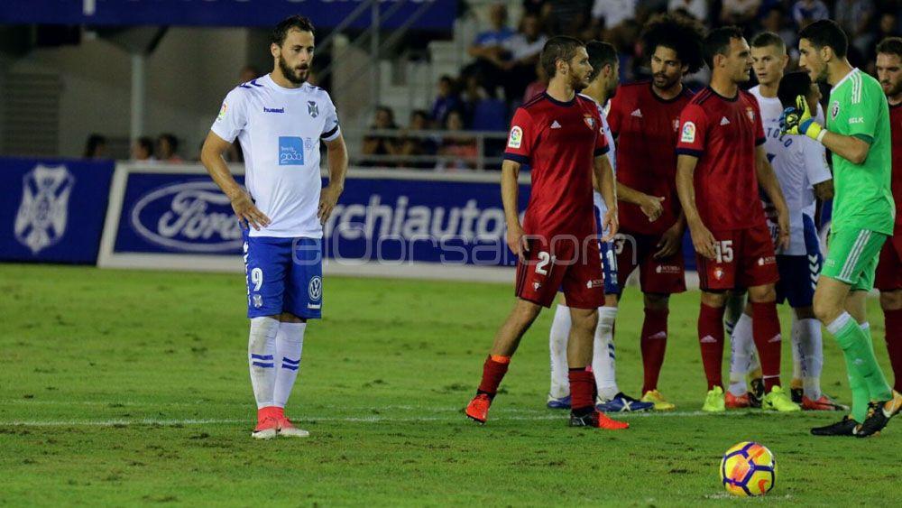 El penalti fallado por Malbasic en el CD Tenerife – Osasuna