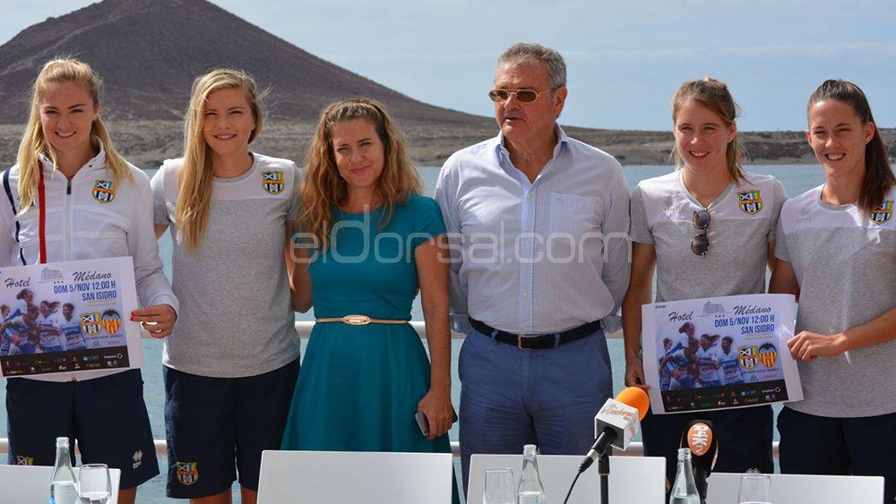 Presentado el partido entre UDG Tenerife y Valencia