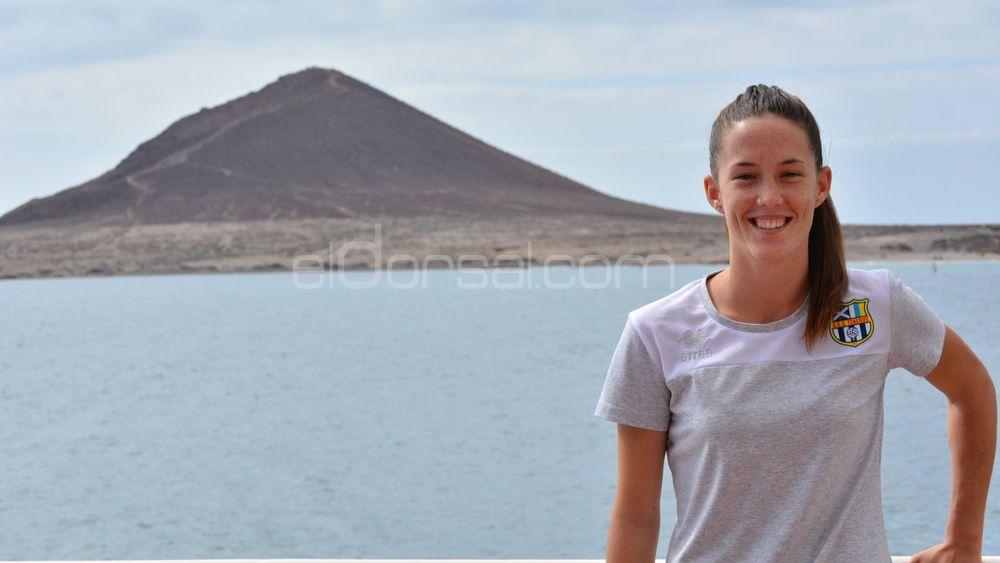 """Eva Llamas: """"La UDG Tenerife ha iniciado el despegue"""""""