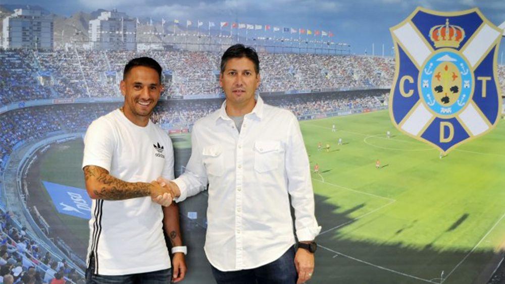 El CD Tenerife renueva a Suso Santana