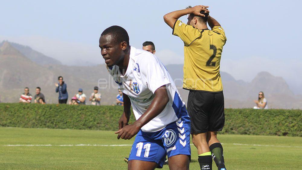 El CD Tenerife B pierde a Faridi Mussa para lo que resta de temporada