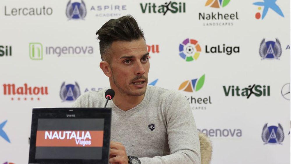 """Rubén de la Barrera: """"Buscaremos condicionar el juego del CD Tenerife e imponer el nuestro"""""""