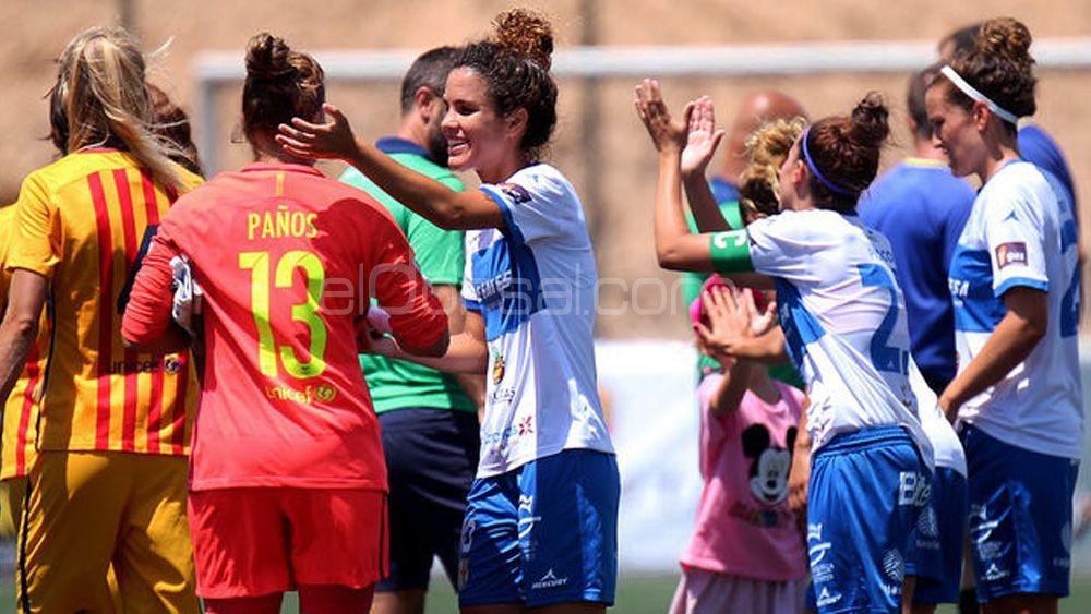 """Cindy: """"La UDG Tenerife es mucho más competitiva ahora que cuando debutó ante el FC Barcelona"""""""