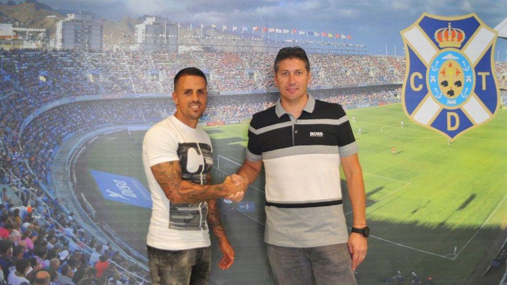 Vitolo, un año más en el CD Tenerife