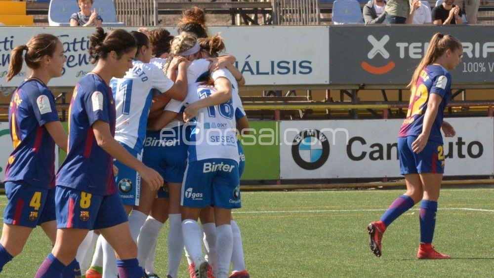 La UDG Tenerife se hace un sitio entre los grandes de la Liga Iberdrola