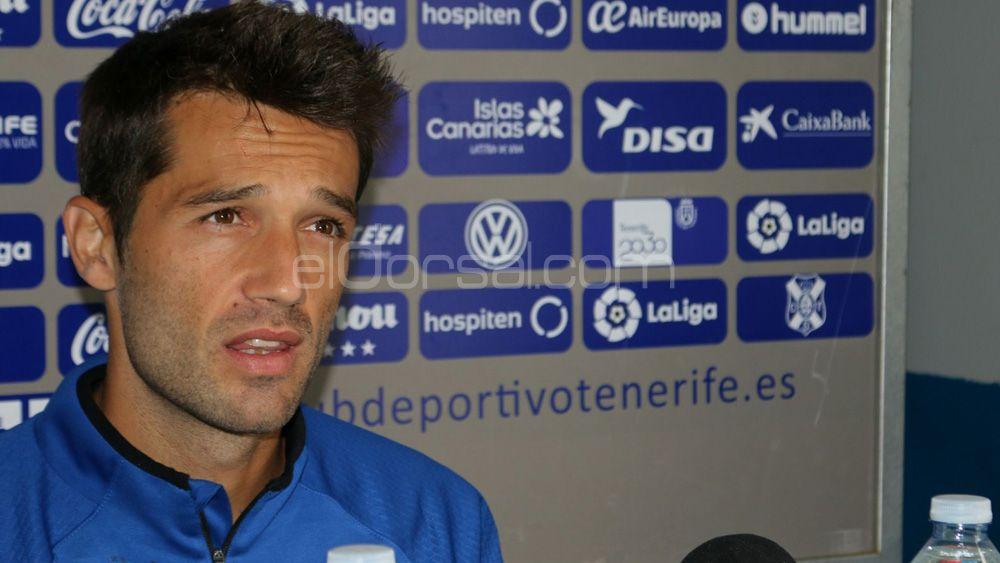 "Aitor Sanz: ""A partir de ahora, cada partido del CD Tenerife será de vital importancia"""