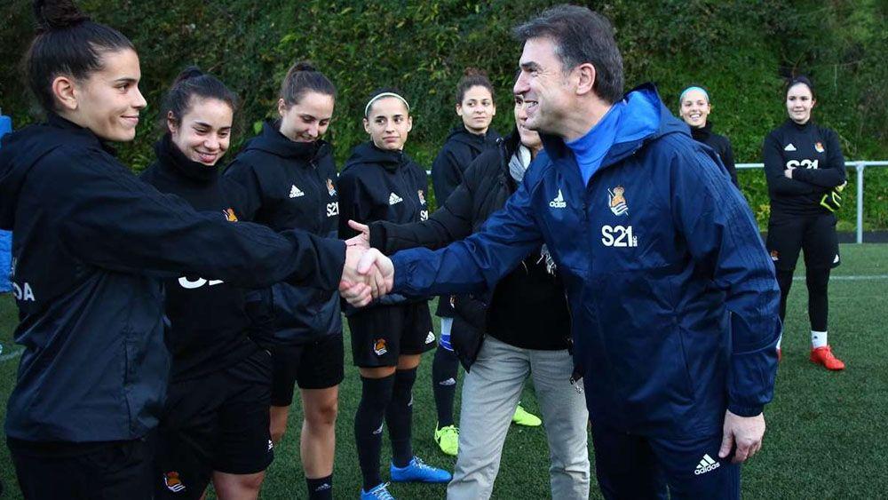 El ex del CD Tenerife Gonzalo Arconada, nuevo técnico del equipo femenino de la Real Sociedad
