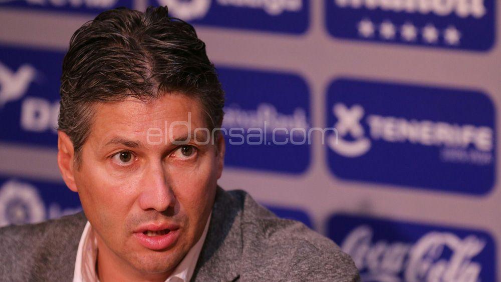 """Alfonso Serrano: """"Martí es el entrenador ideal para el CD Tenerife"""""""