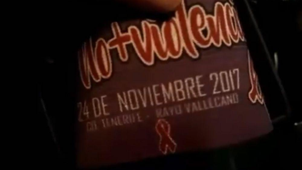 El CD Tenerife, contra la violencia de género para recibir al Rayo Vallecano
