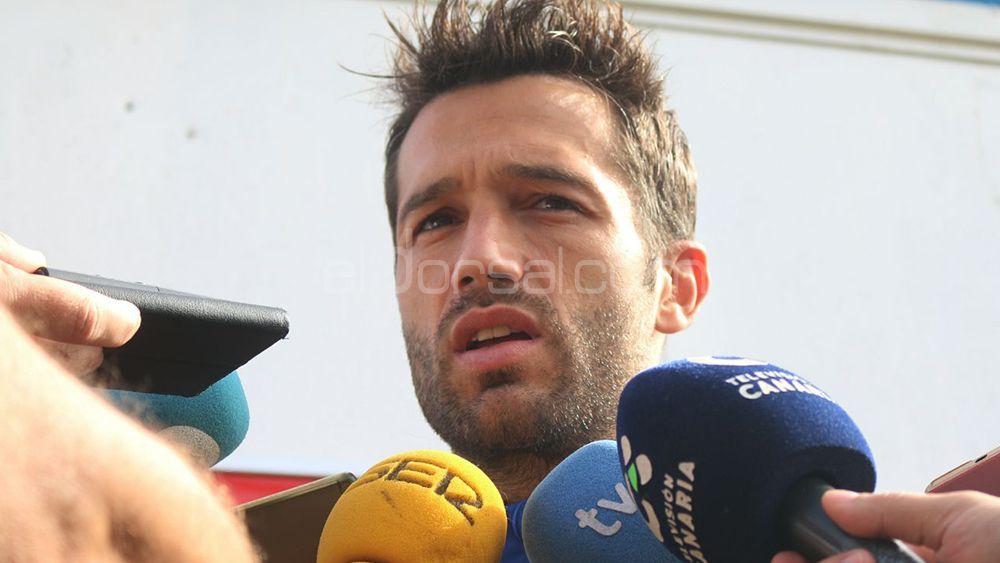 """Aitor Sanz: """"Es un partido muy bonito, queremos dar la cara y pasar la eliminatoria en Copa del Rey"""""""