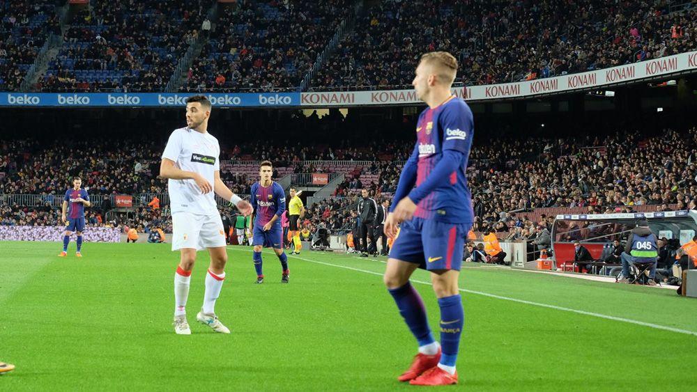 Nadjib, titular en el FC Barcelona – Real Murcia de Copa del Rey