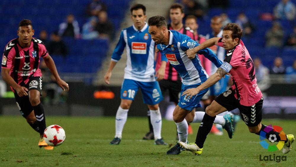 El uno por uno de los jugadores del CD Tenerife ante el Espanyol en Cornellà