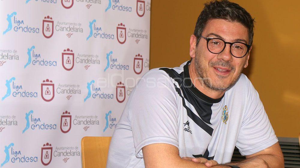 """Fotis Katsikaris: """"Vamos a intentar correr un poco más en ataque"""""""