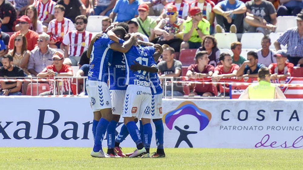 El uno por uno de los jugadores del CD Tenerife ante la UD Almería