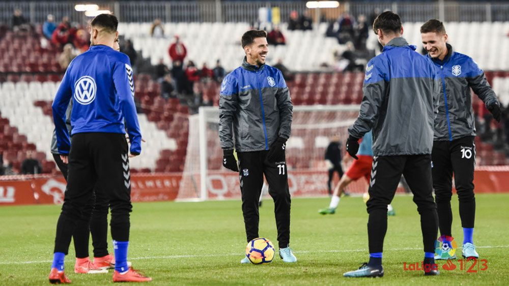 Autocrítica, fe y unión entre los jugadores del CD Tenerife