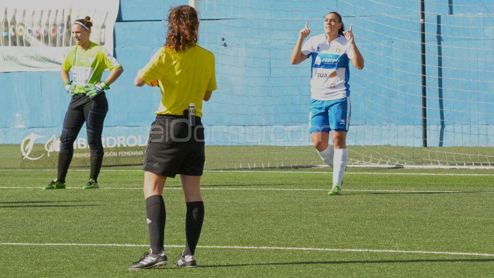 'Manita' de la UDG Tenerife al Sporting Huelva para continuar con la buena racha