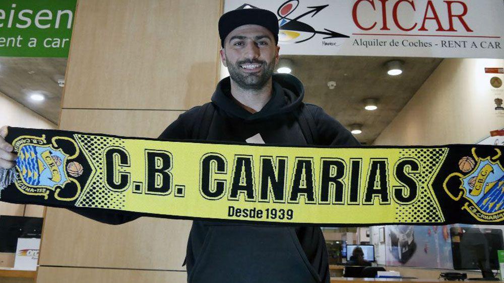 """Vasileiadis: """"Katsikaris necesitaba un tirador puro, y aquí estoy, en el Iberostar Tenerife"""""""