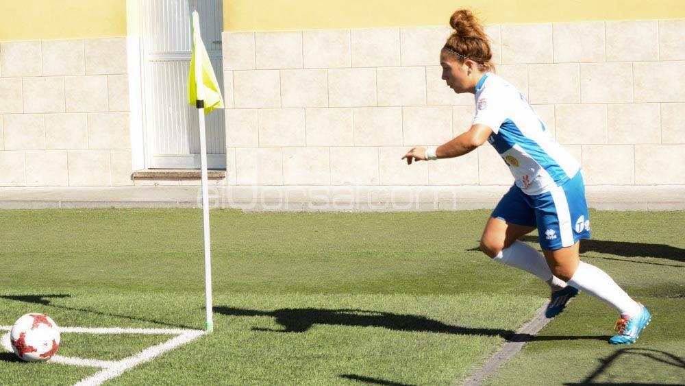 Así se entrena Sara Tui para llegar en forma a la pretemporada de la UDG Tenerife