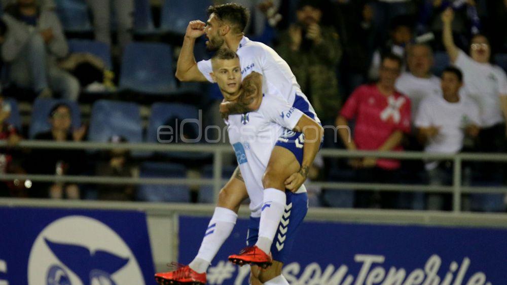 El CD Tenerife sigue siendo de los equipos más goleadores de la Liga 123