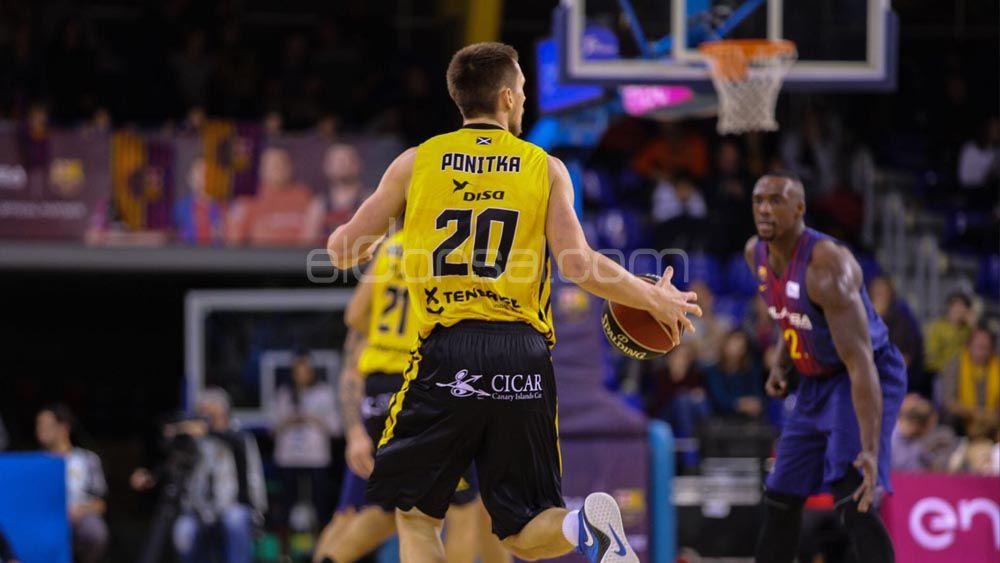 Mateuz Ponitka se alza con el MVP de la jornada tras su partidazo con el Iberostar Tenerife